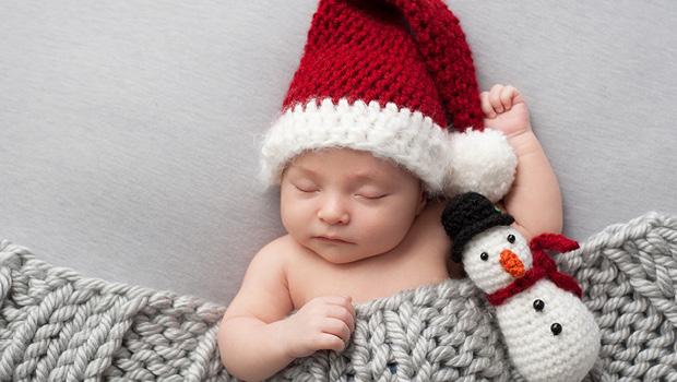 Kind mit Geschenke