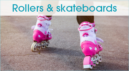 Rollers et skateboards