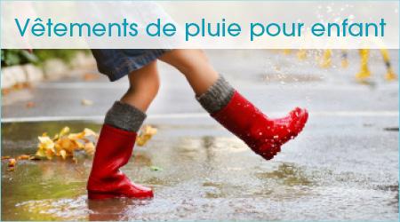 Vêtement de pluie pour enfant