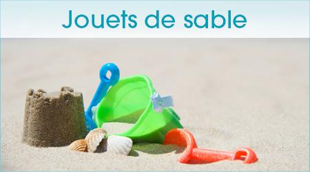 Jouets pour le sable