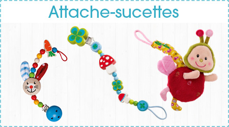 Attaches sucettes