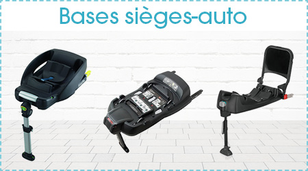 Bases sieges auto