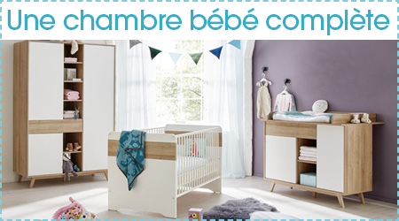Une chambre pour bébé complète