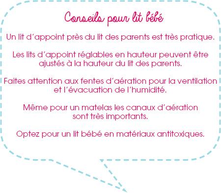 Conseil pour bien choisir le lit de bébé
