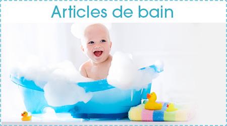 Article de bain pour bébé