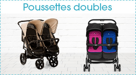 Poussettes doubles