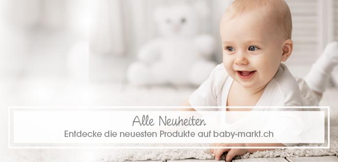 Alle Neuheiten bei baby-markt.ch. Entdecke die neusten Produkte auf baby-markt.ch