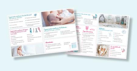 Checklista att bocka av med allting du behöver skaffa inför bebisens ankomst.