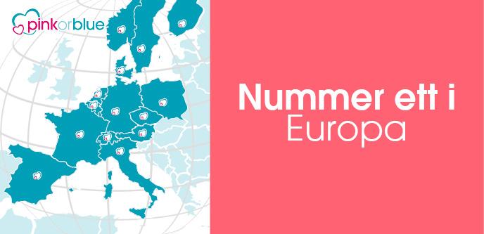 Nummer ett i Europa