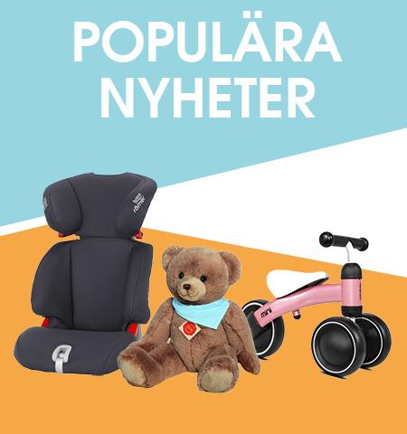 POPULÄRA NYHETER