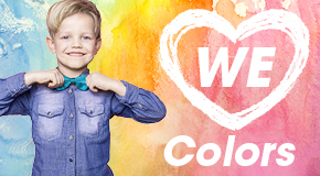 Thema we love colors