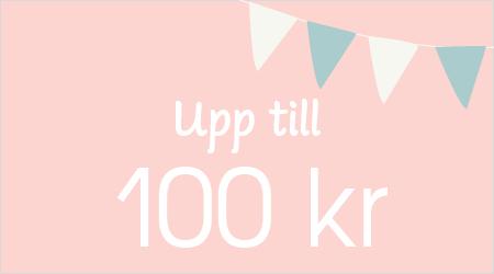 Upp till 100 kr