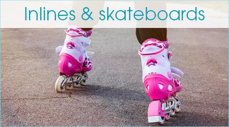 Inlines & skateboards