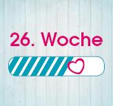 26. Schwangerschaftswoche