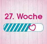27. Schwangerschaftswoche