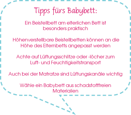 Tipps Babybett