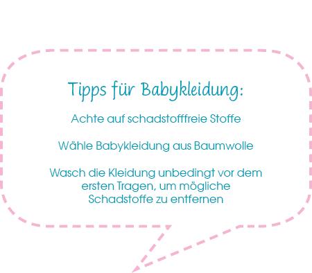 Tipps zum Kauf von Babykleidung