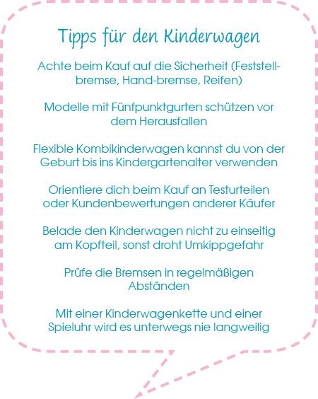 Tipps für den Kinderwagen-Kauf