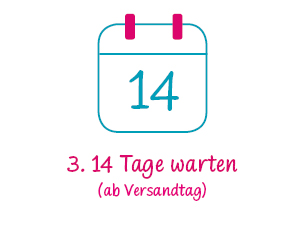 babypoints 14 Tage warten