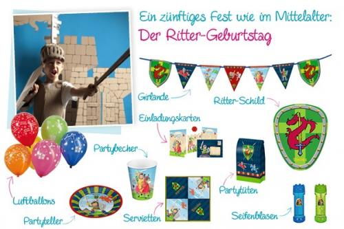 Der Ritter-Geburtstag wie auf dem Burghof