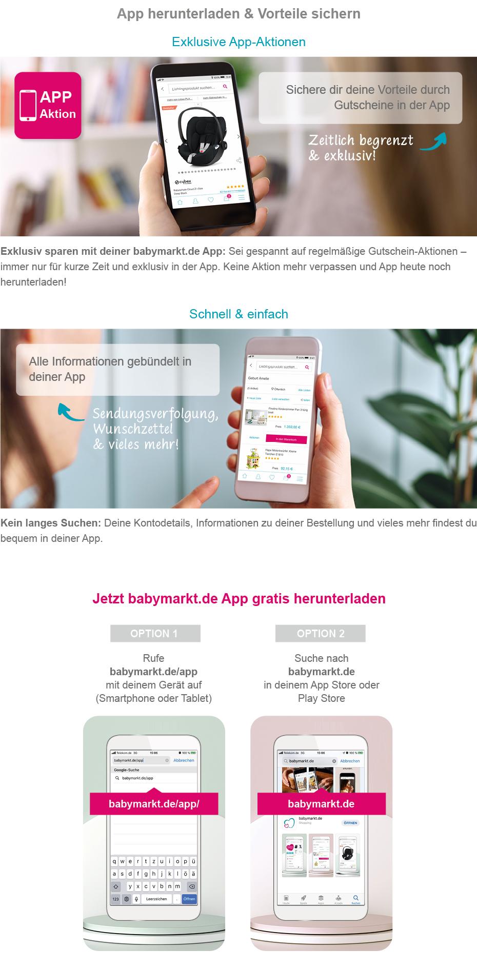 App herunterladen & Vorteile sichern
