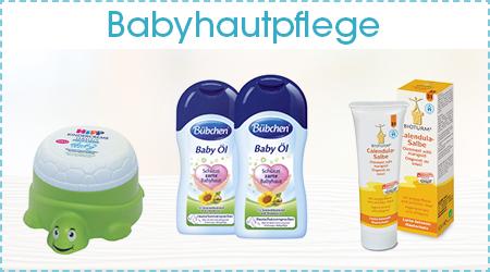 Erstausstattung Babyhautpflege