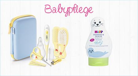 Ein Babypflegeset und Hipp Shampoo