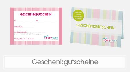 Geschenkgutscheine für Babys und Kinder