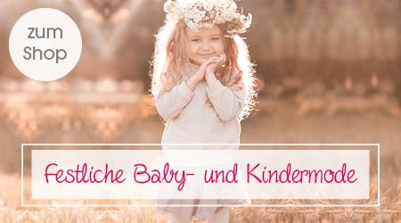Festliche Baby- und Kindermode
