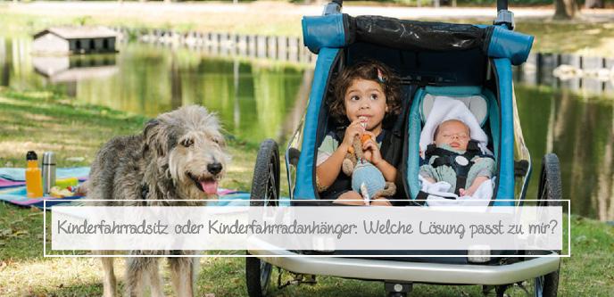 Kinderfahrradsitz oder Kinderfahrradanhänger: Welche Lösung passt zu mir?