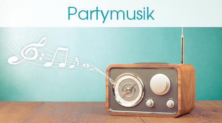 Radio spielt Kinderpartymusik