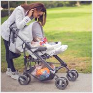 Kinderwagen mit 6 Rädern