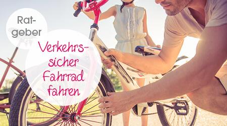 Mit diesen Tipps das Fahrrad verkehrssicher machen