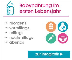 Informationen zu Babynahrung im ersten Lebensjahr