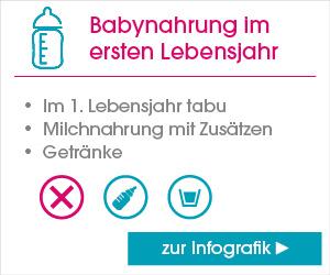 Zur Infografik Babynahrung im ersten Lebensjahr