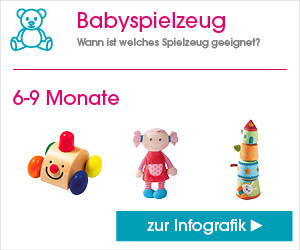 Infografik Babyspielzeug 6-9 Monate