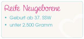 Reife Neugeborene