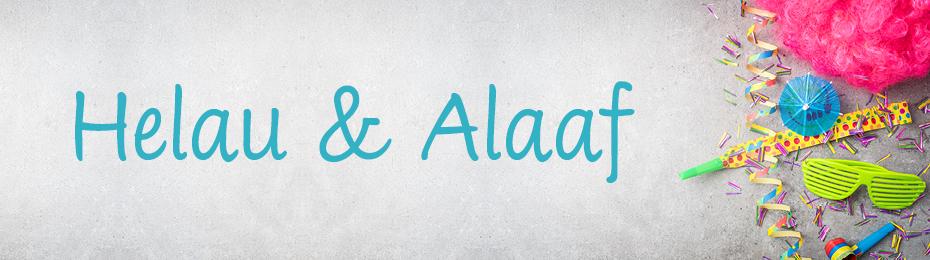 Alaaf und Helau