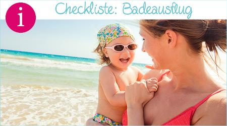 Checkliste: Badeausflug mit Kindern