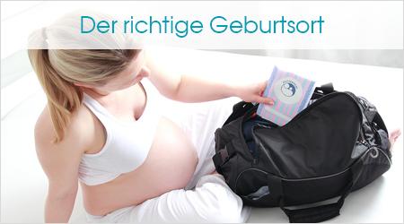 Der richtige Geburtsort, Schwangere packt ihre Tasche
