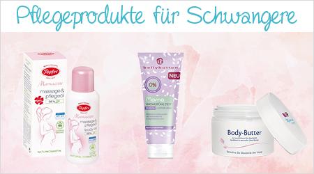 Pflegeprodukte für Schwangere