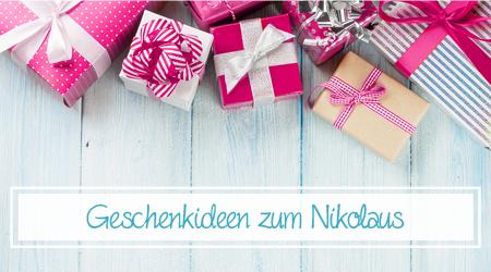 Geschenkideen zum Nikolaus