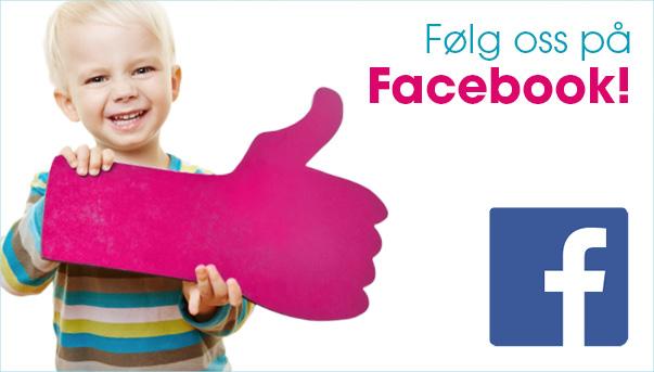Følg oss på facebook!