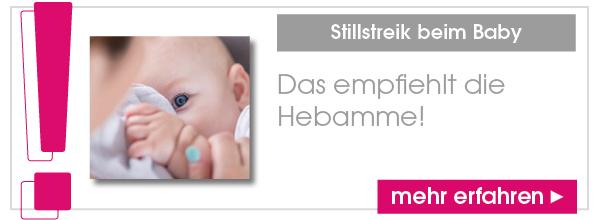 Stillstreik beim Baby: Das empfiehlt die Hebamme!