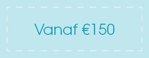 Vanaf €150
