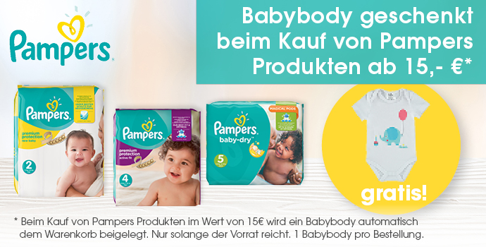 Pampers Aktionen