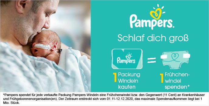 Pampers Frühchen-Kampagne