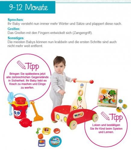 Babyspielzeug für 9-12 Monate