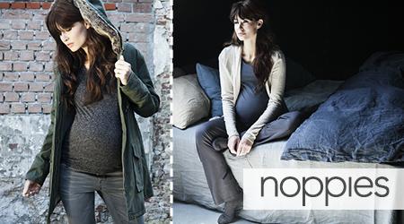 Schwangere in Umstandsmode von Noppies