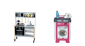 Leksaker kök och hushåll